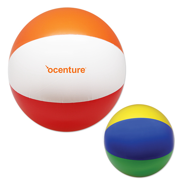 "Inflatable 16"" Beach Ball"
