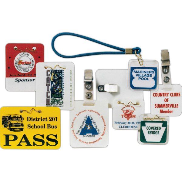 Laminated ID Badges & Swim Tags