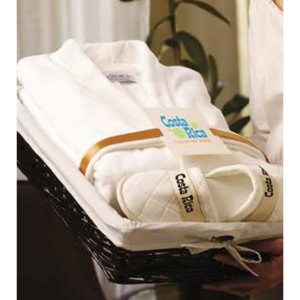 Robe and Slippers Gift Set