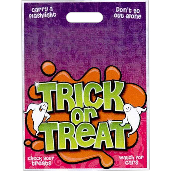 "11"" x 15"" Stock Full Color Halloween Bag"