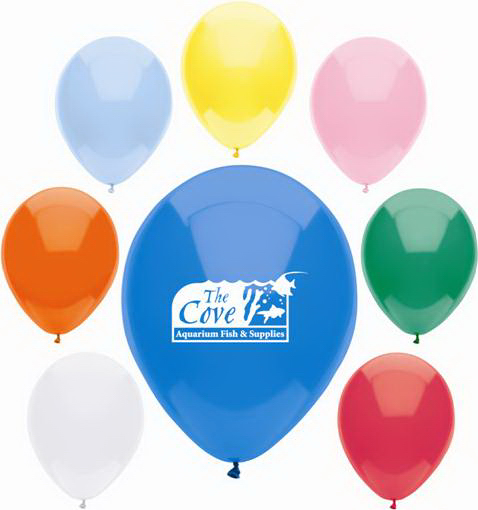 Economy Line AdRite Latex Balloon-Basic Colors