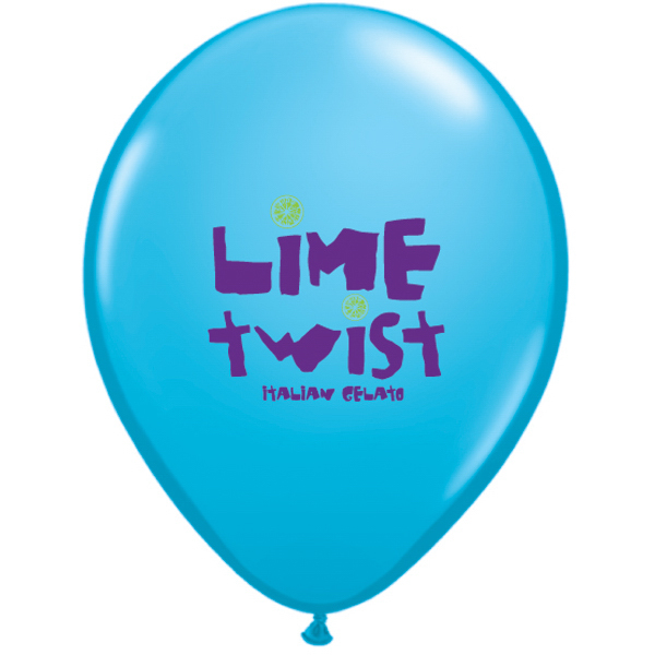 Qualatex Latex Standard Color Balloon 2-Color Imprint