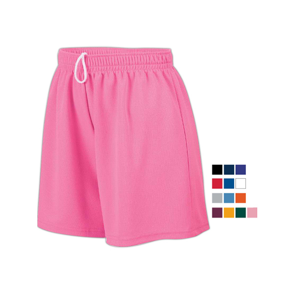 Ladies' wicking mesh shorts