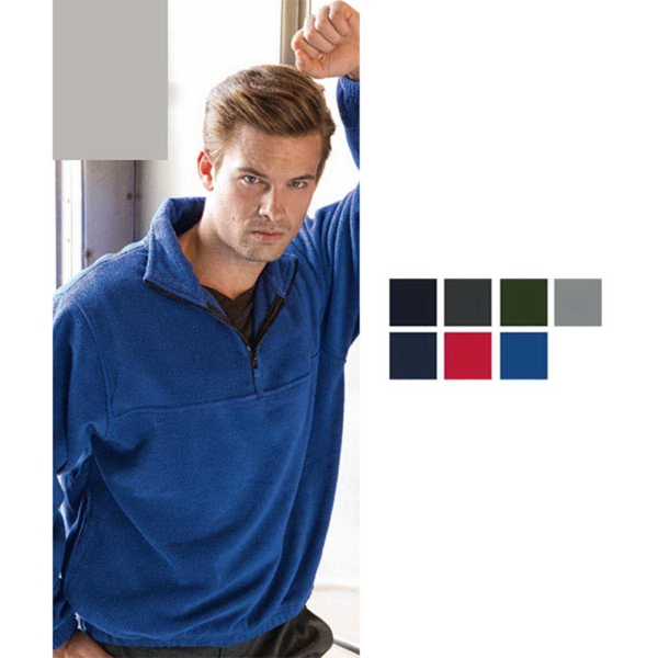 Sierra Pacific Quarter Zip Poly Fleece Pullover