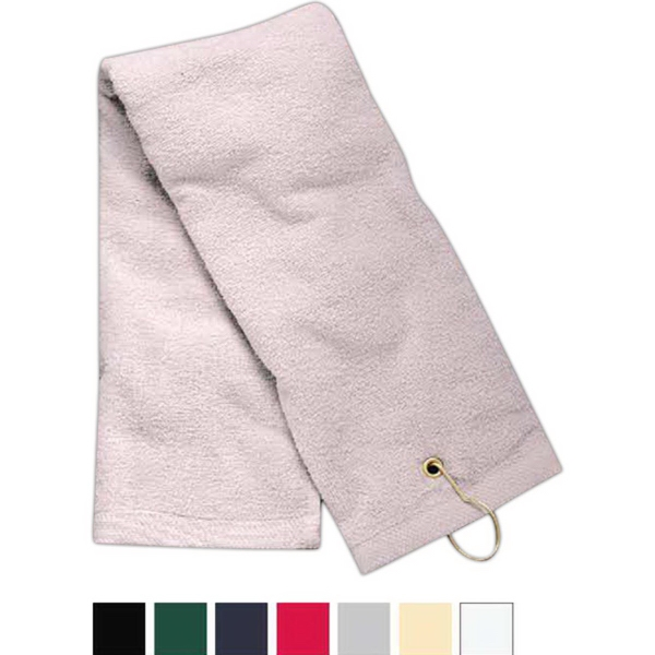 Towels Plus (R) by Anvil Tri-fold Hemmed Hand Towel