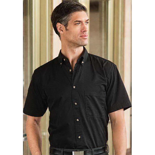 Sierra Pacific Short Sleeve Cotton Twill