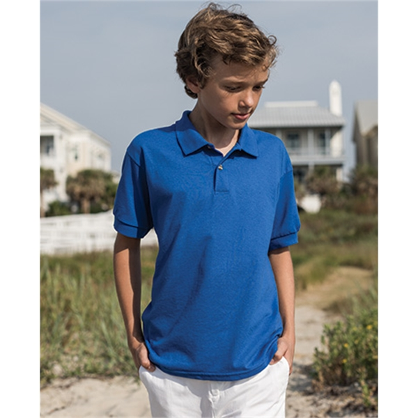 Gildan Youth Jersey Short Sleeve Sport Shirt