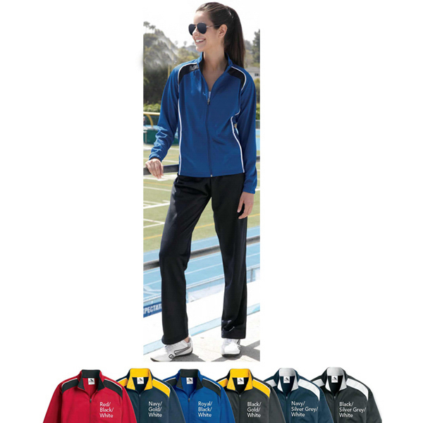 Augusta Sportswear (R) Ladies' Tri-Color Jacket