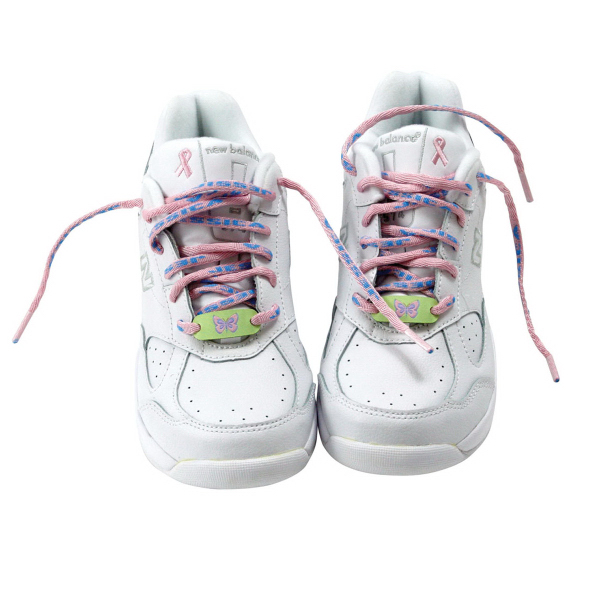 Custom Shoelaces with clear plastic tips