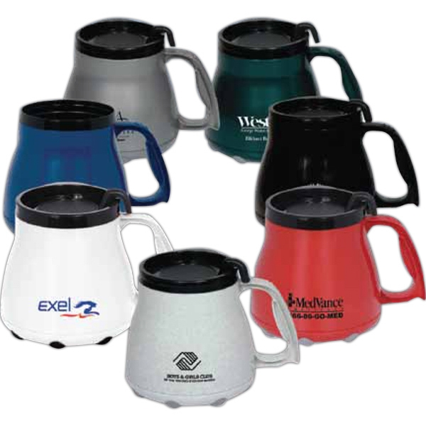 16 oz. Mug with Special Grip Base and Slider Lid