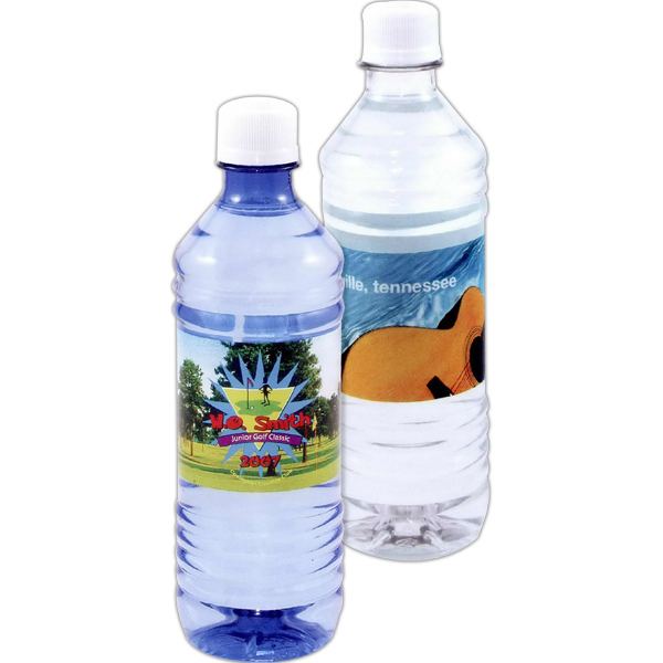 Customized Bottled water with full color label - 16.9oz