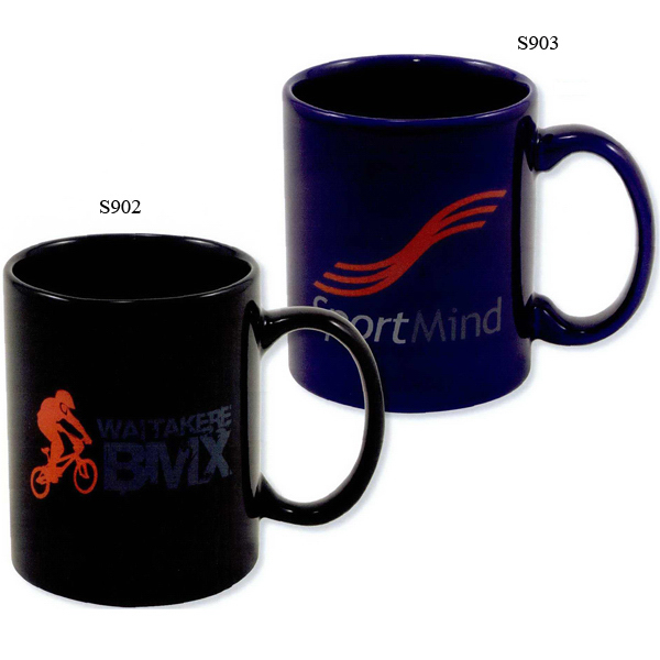 Custom Direct screen stoneware corporate mug - 11oz
