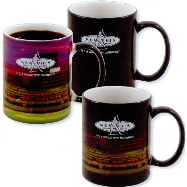 Customized Mystique (R) stoneware mug - 11oz