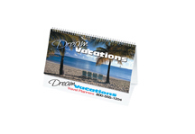 Full Color Desk Tent Calendar