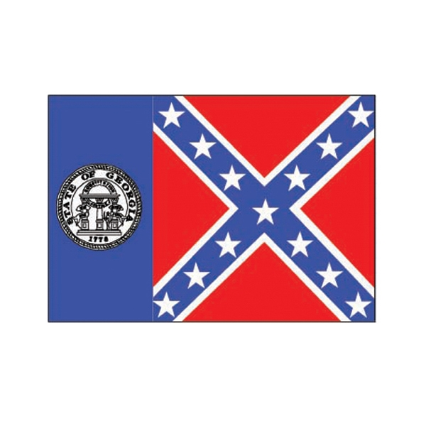 Personalized Georgia State Flag