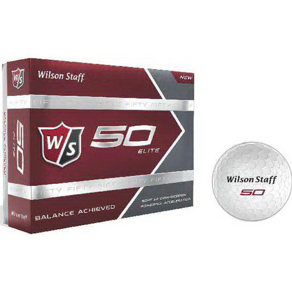 Wilson Staff 50 Elite Golf Balls