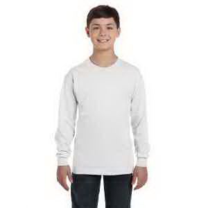 6.1 oz Tagless (R) ComfortSoft (R) Long-Sleeve Youth T-Shirt
