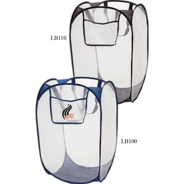 Imprinted Folding laundry bag