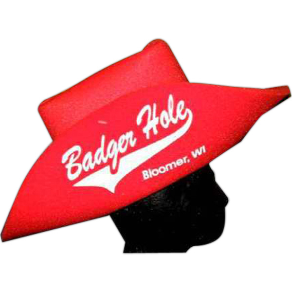 Personalized Foam Cowboy Hat