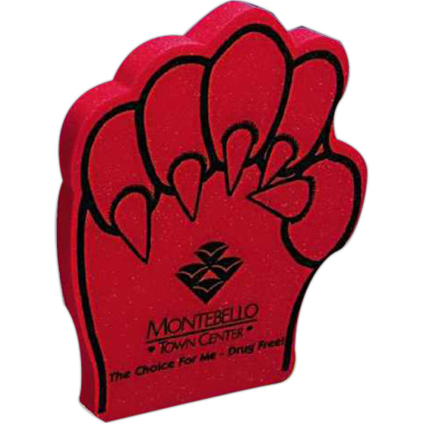 Custom Foam Claw Mitt