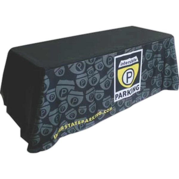 Dye Sublimated Poplin Table Throw