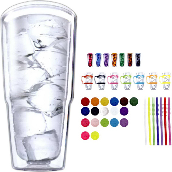 Personalized Insulated Tervis tumblers - set of two