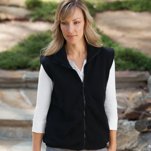 Micro Fleece Full Zip Vest