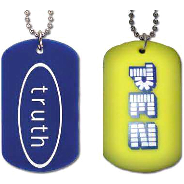 Silicone Dog tag
