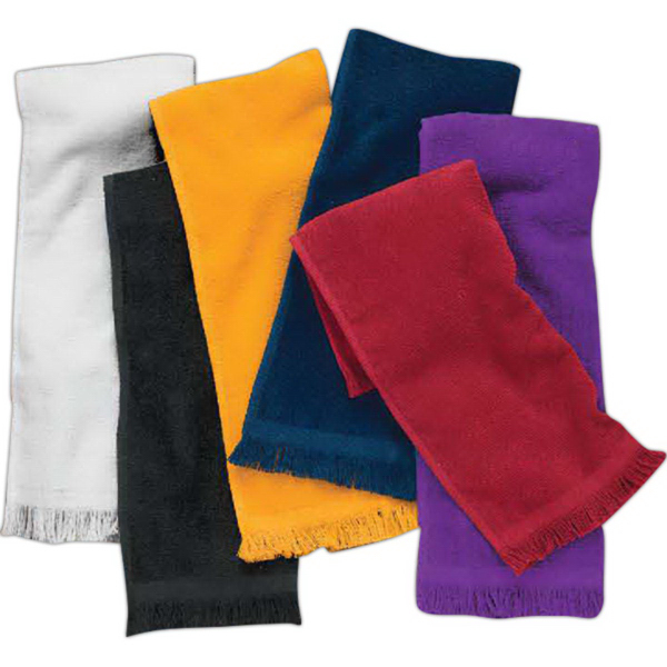Personalized Spirit Towels: Promotional Towels Plus (R) By Anvil Deluxe Tri Fold Hand