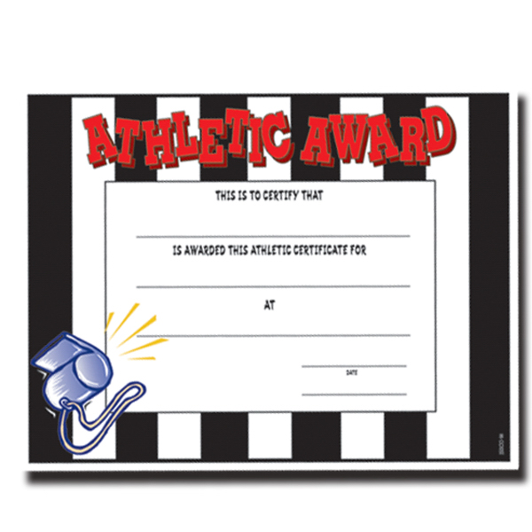 Promotional Stock photo certificate