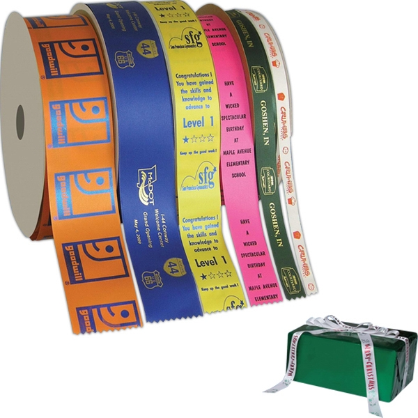 Continuous foil imprint ribbon