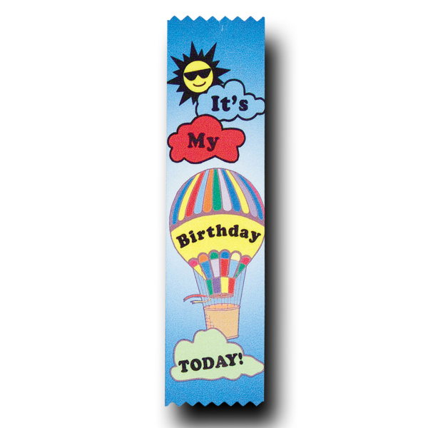 Stock Full Color School Ribbons