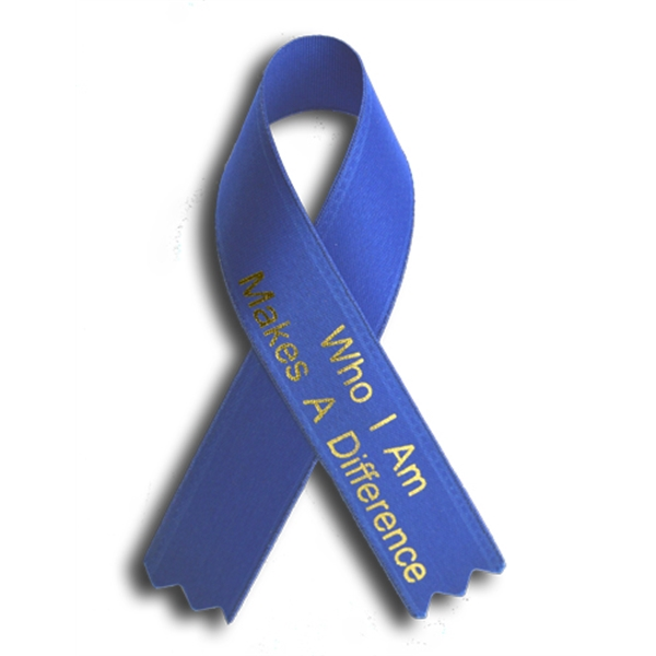 Printed awareness ribbons