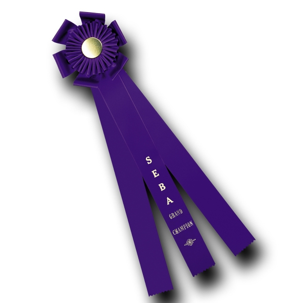 Custom Rosette Ribbon