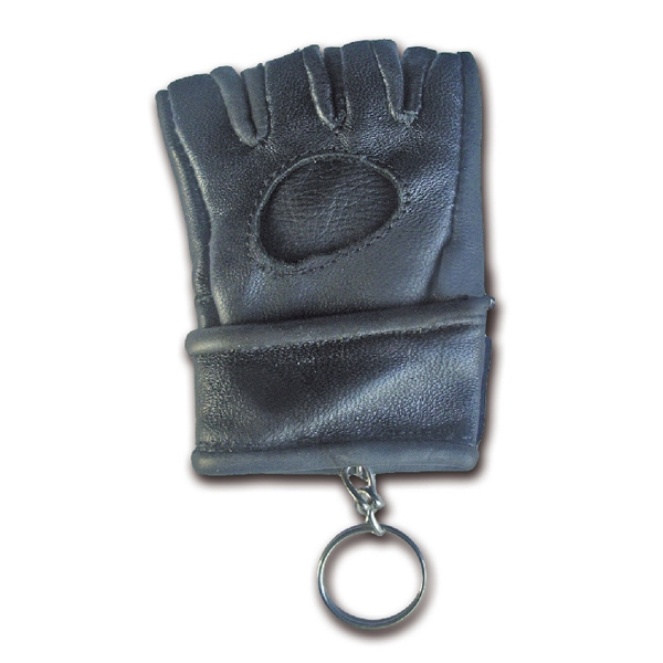 Leather MMA Kick Boxing Glove Keychain
