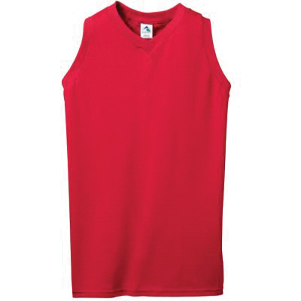 Ladies sleeveless V neck tank top
