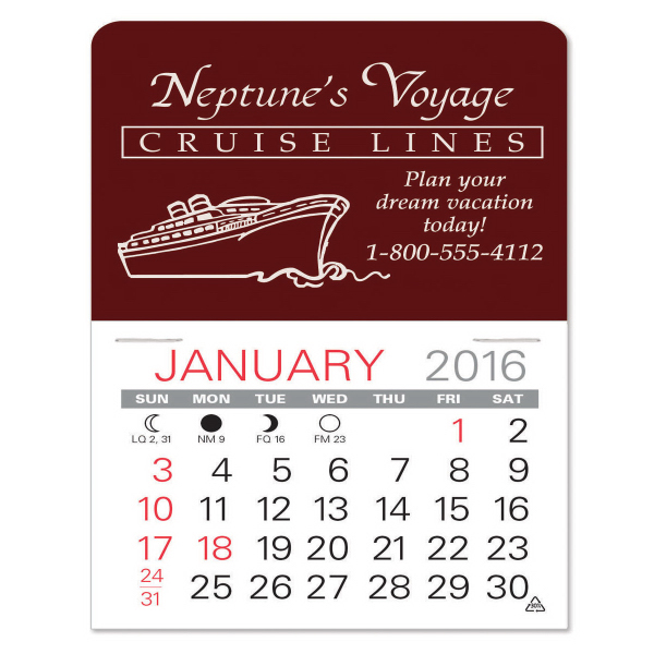 Value Stick (TM) Calendars