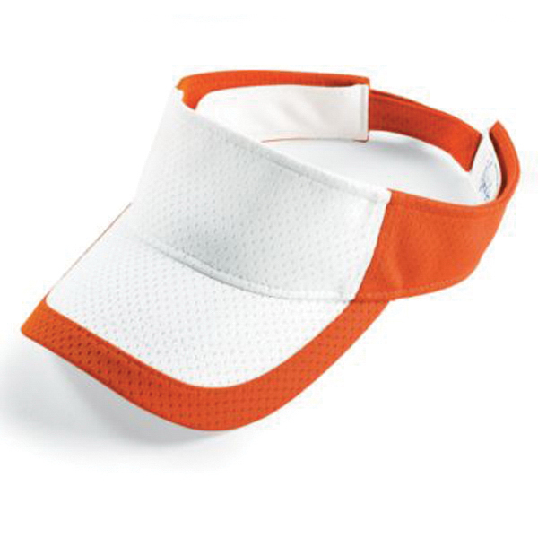 Color block athletic mesh visor