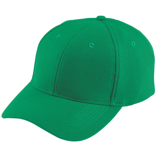 Adjustable wicking mesh cap with six panels