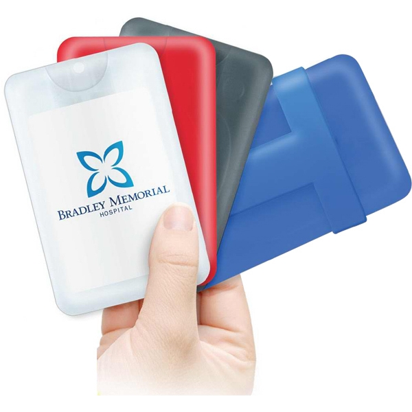 0.67 oz. Credit Card Shaped Hand Sanitizer Sprayer