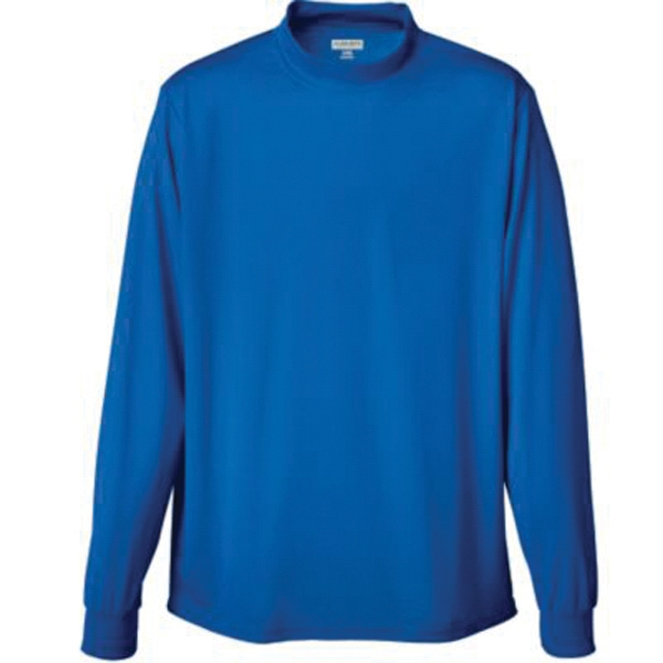 Wicking Mock Turtleneck