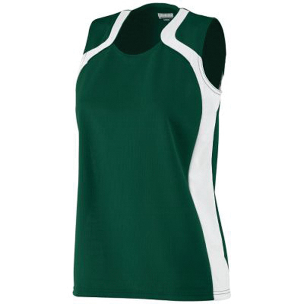 Ladies' wicking mesh jersey