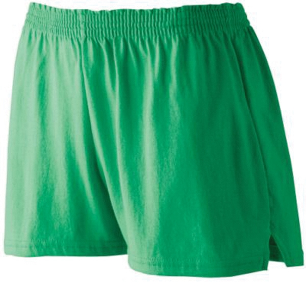 Ladies' trim fit jersey shorts