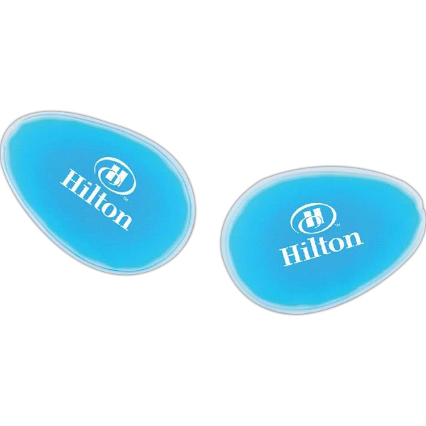 Relaxation gel eye pads