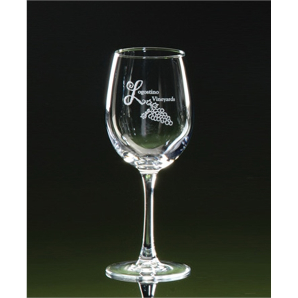 12 oz. Afficiando Stemmed Wine Glasses Set of 2