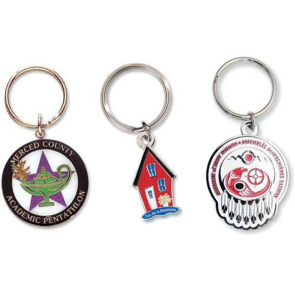 Iron Die Struck Key Chain