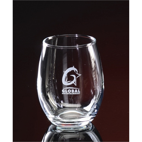 9 oz. Stemless Wine Set