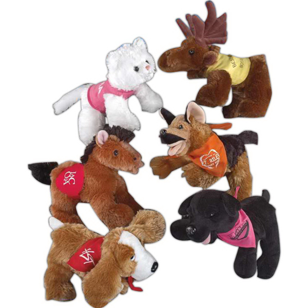 "Floppets (TM) 8"" stuffed animal"