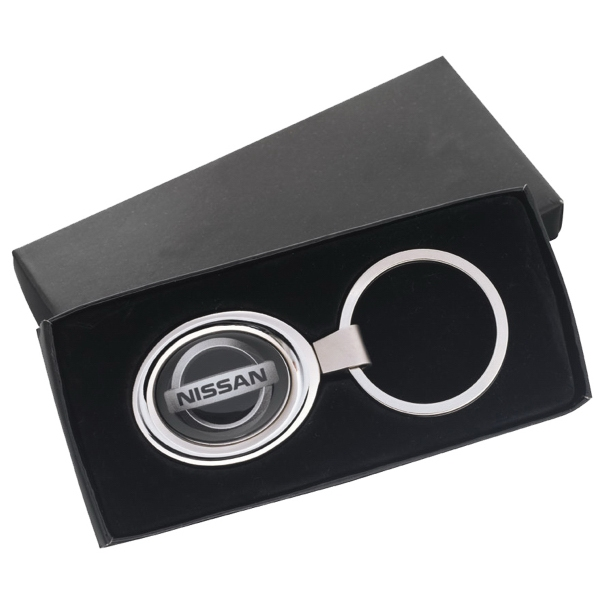 Oval Key Tag with N-Dome (tm)
