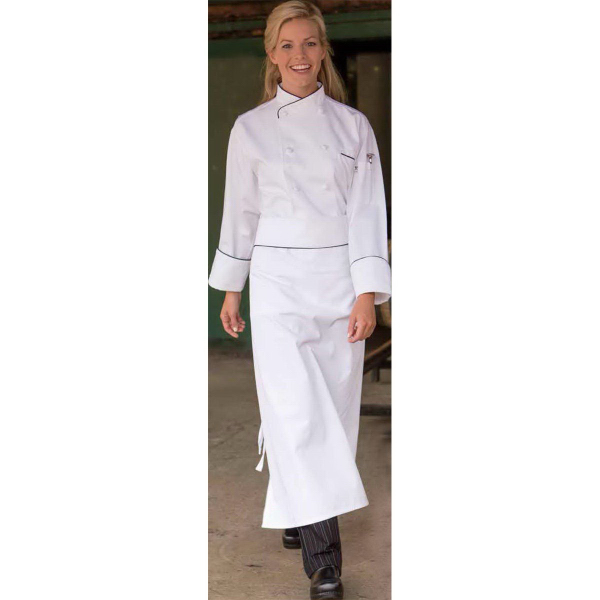 Custom San Marco White Chef Coat